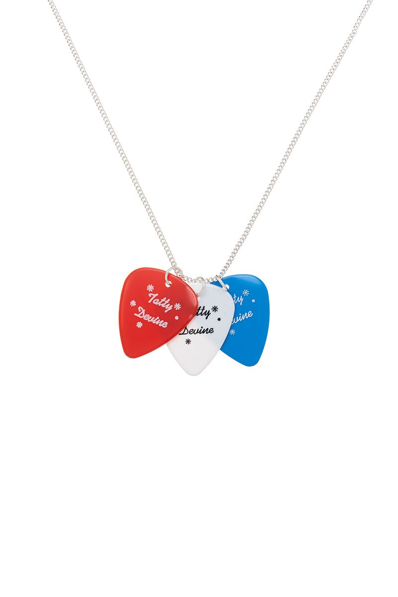Plectrum Necklace, £25: http://www.tattydevine.com/plectrum-necklace.html
