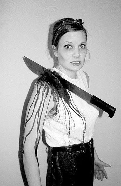 Creative, Unique  Scary Halloween Costume Ideas For Girls  Women - terrifying halloween costume ideas