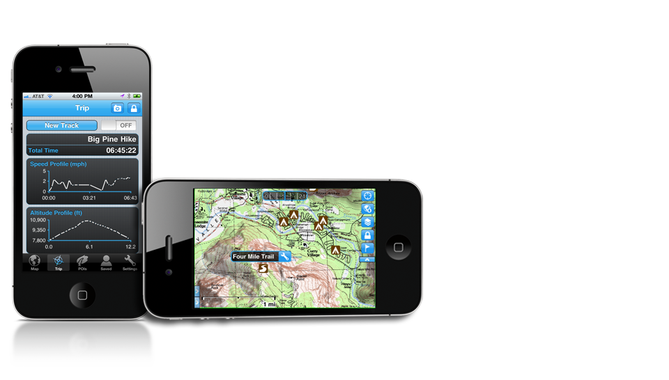 iOS 4 0 Compatible Gaia GPS Approved Today | iPhone Apps