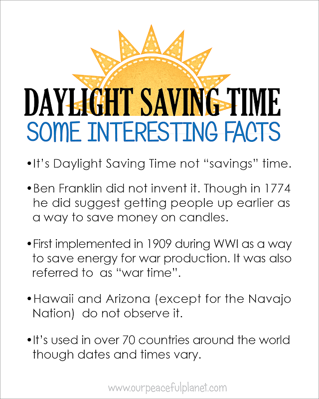 essays on daylight savings time Benjamin franklin's essay on daylight saving letter to the editor then estimating seven hours per day as the medium quantity between the time of the sun's.