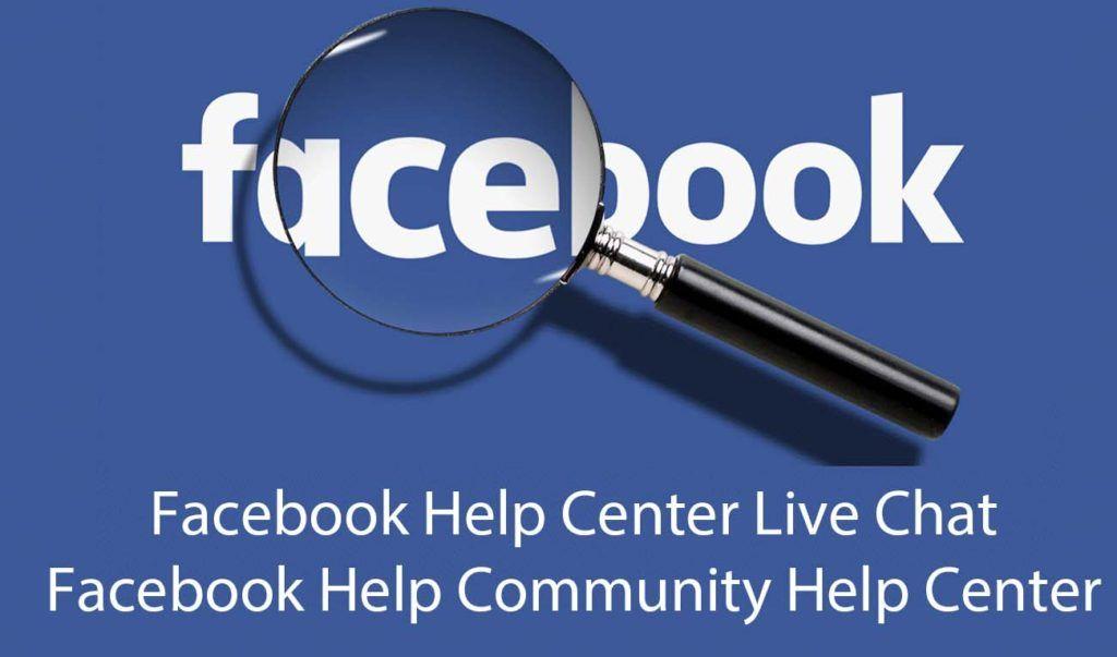 Facebook Help Center Live Chat Facebook Help Community