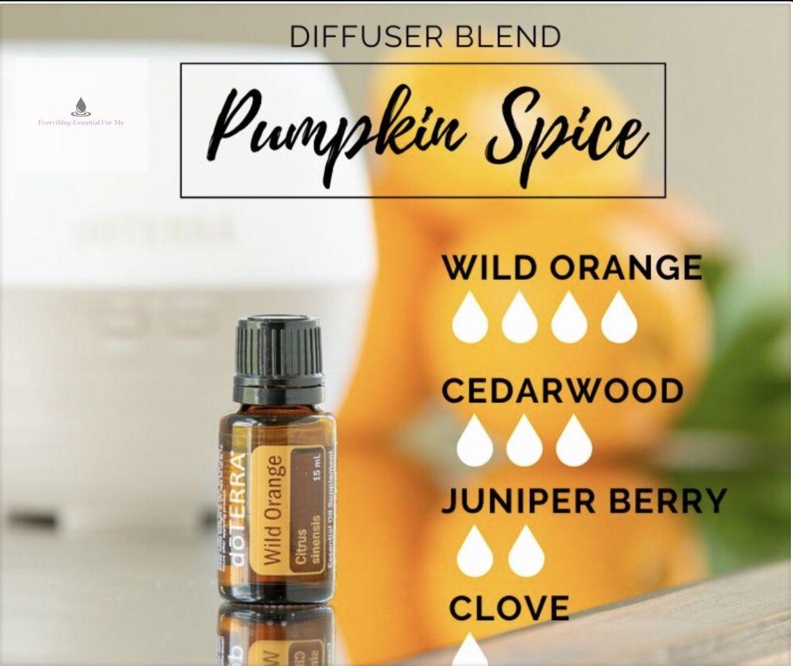 Pumpkin Spice Diffuser Blend | dōTERRA Essential Oils #winterdiffuserblends