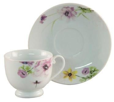 6 Dragonfly Tea Cups & Saucers at Cheap Price 6 Tea Cups and 6 ...