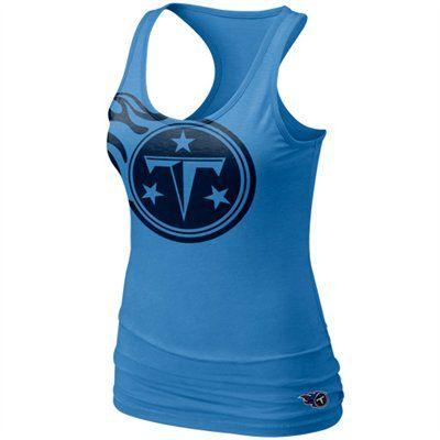 cheap for discount c7137 650f2 Nike Tennessee Titans Women's Big Logo Tri-Blend Tank ...