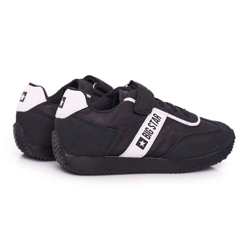 Sportowe Buty Dzieciece Big Star Na Rzepy Czarne Ff374134 Baby Shoes Shoes Fashion