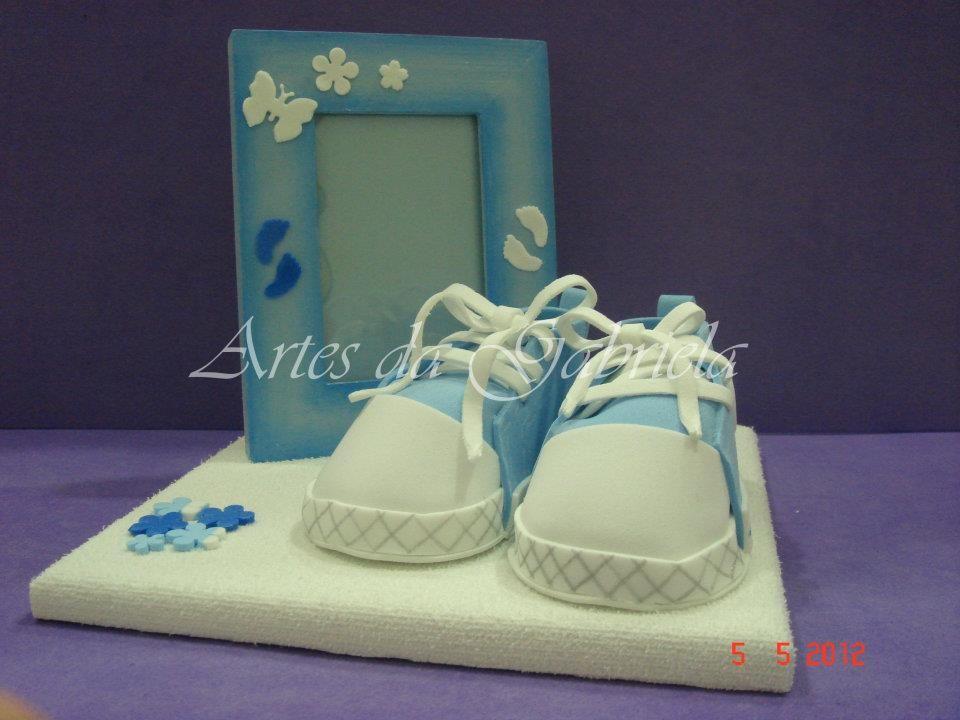 Moldura Sapatilhas azul