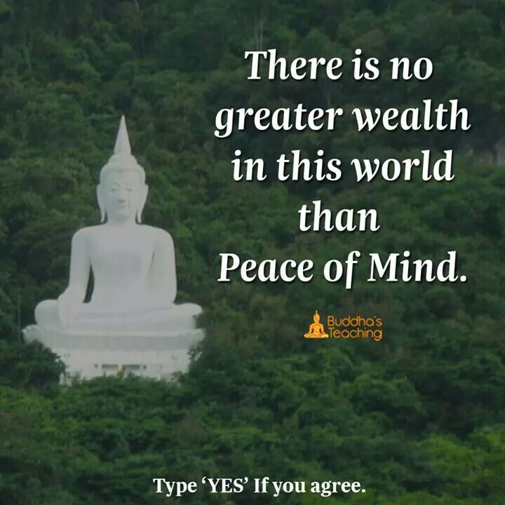 Peace Of Mind Buddha Quotes Life Buddha Quote Buddhist Quotes