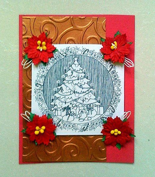designer work for Sketches4All - a handmade postcard