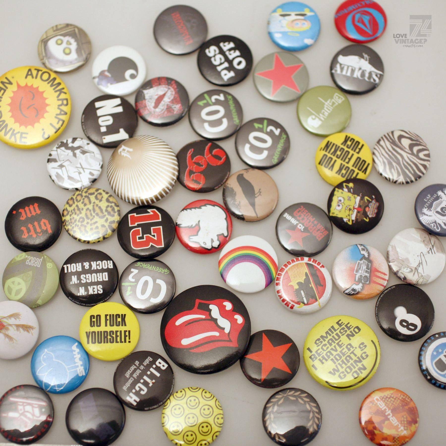 buttons badges pins anstecker in wetzikon zh kaufen bei
