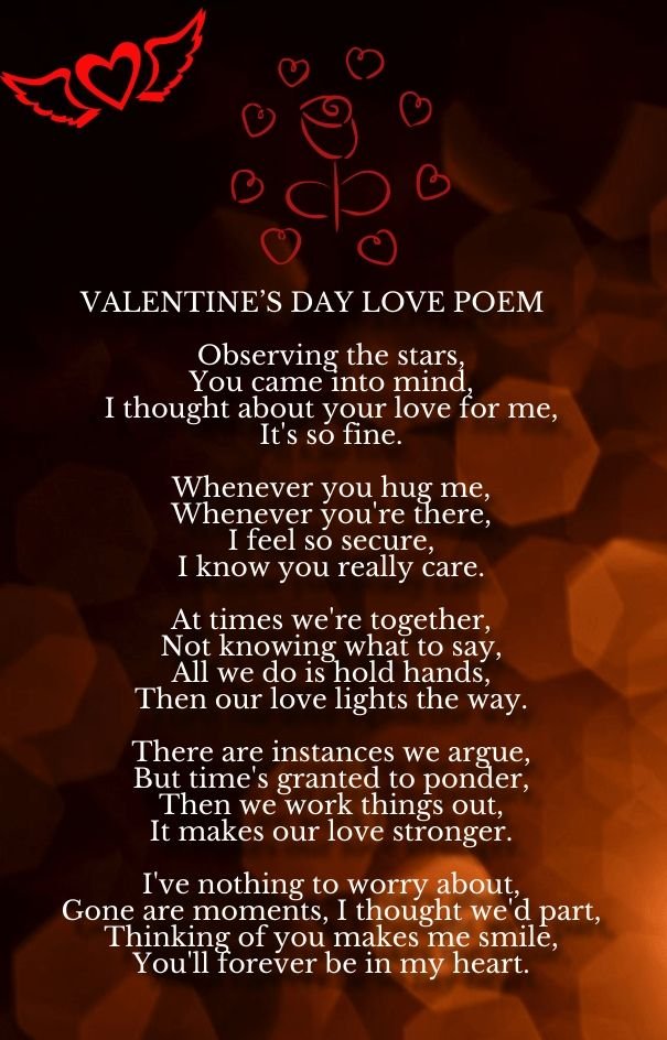 Valentines day love poems romantic poems for her for Love valentines day quotes