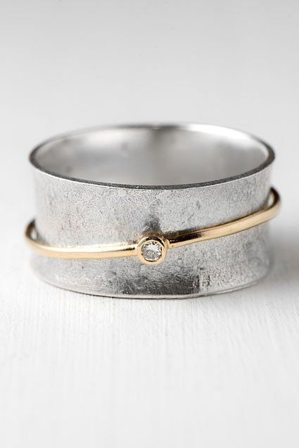 Photo of Jewelry Accessories – Diamant-Spinner-Ring