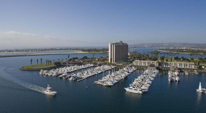 Explore A San Go Mission Bay Hotel With Water Activities And Three Pools When You Stay At The Hyatt Regency Spa Marina