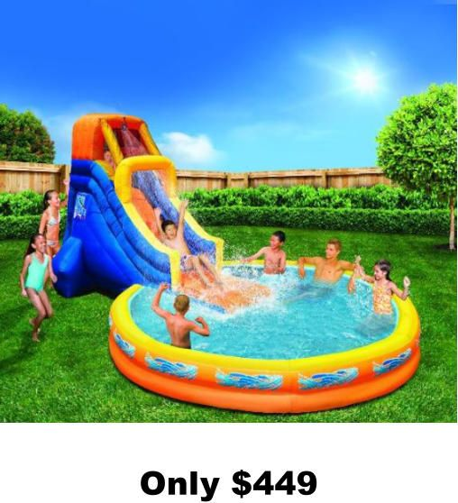 Kids Pools With Slides water slides, kid's pools, swing-sets, playhouses, pergolas, free