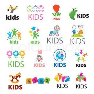 kindergarten logo vector google search gym logo design