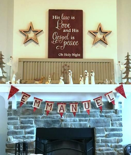Christmas sign by Aimee Weaver Designs