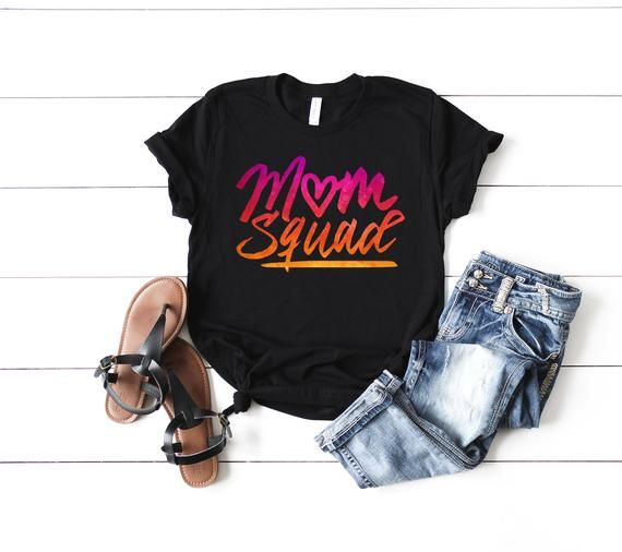 Mom Squad Shirt Crew Tribe To Be Mother