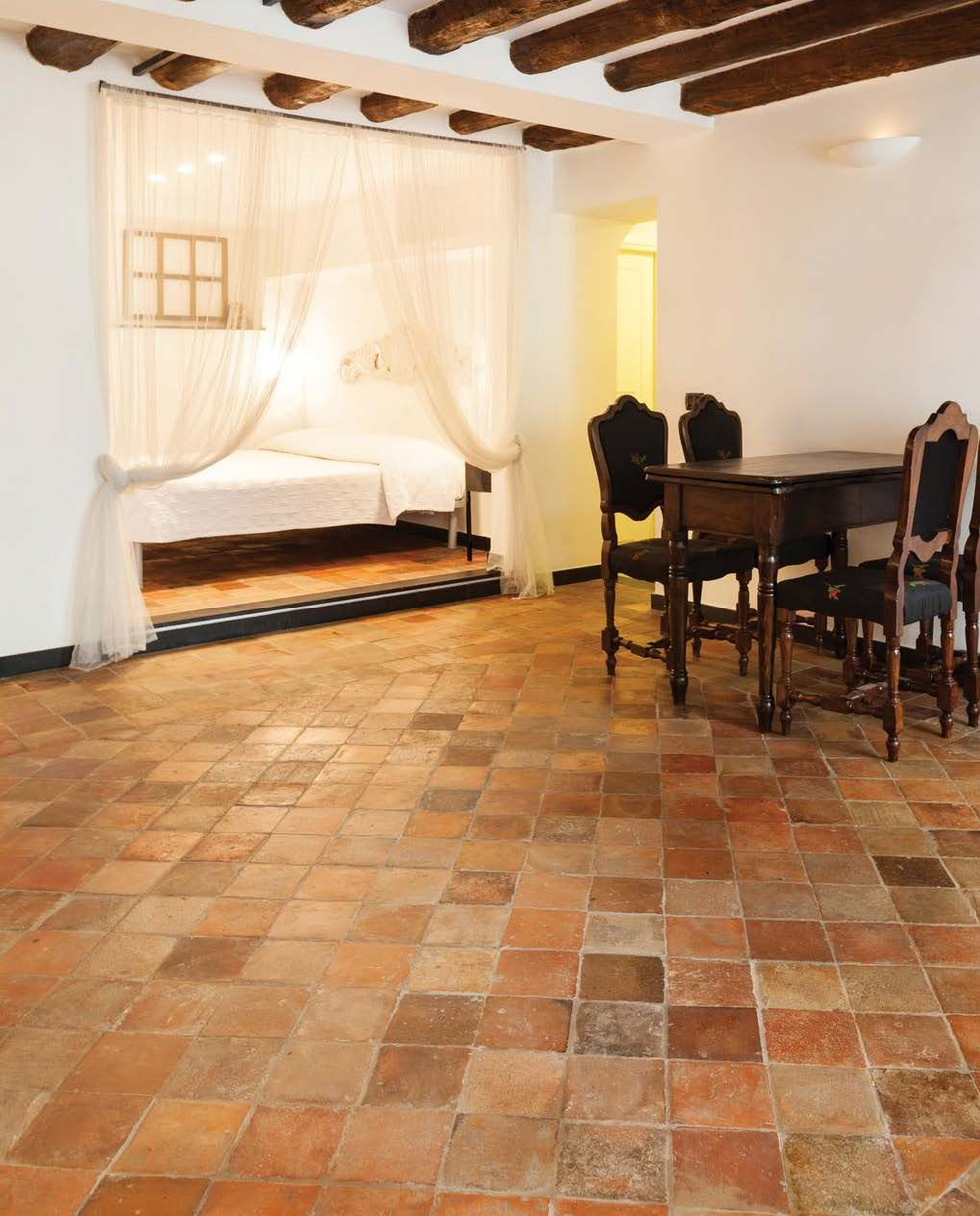 Authentic Reclaimed Terracotta Floor Tiles Dating Back From 100 To