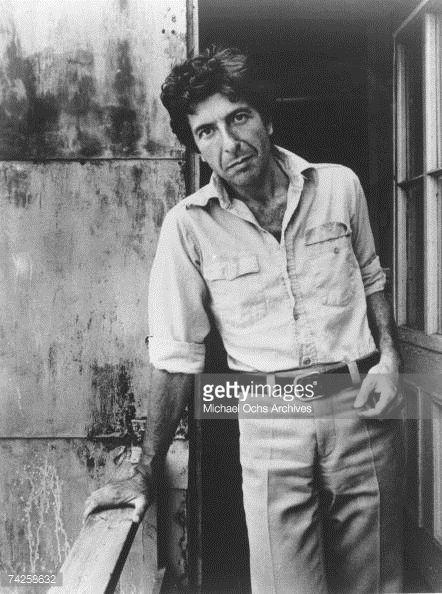 News Photo: Photo of Leonard Cohen Photo by Michael Ochs ...