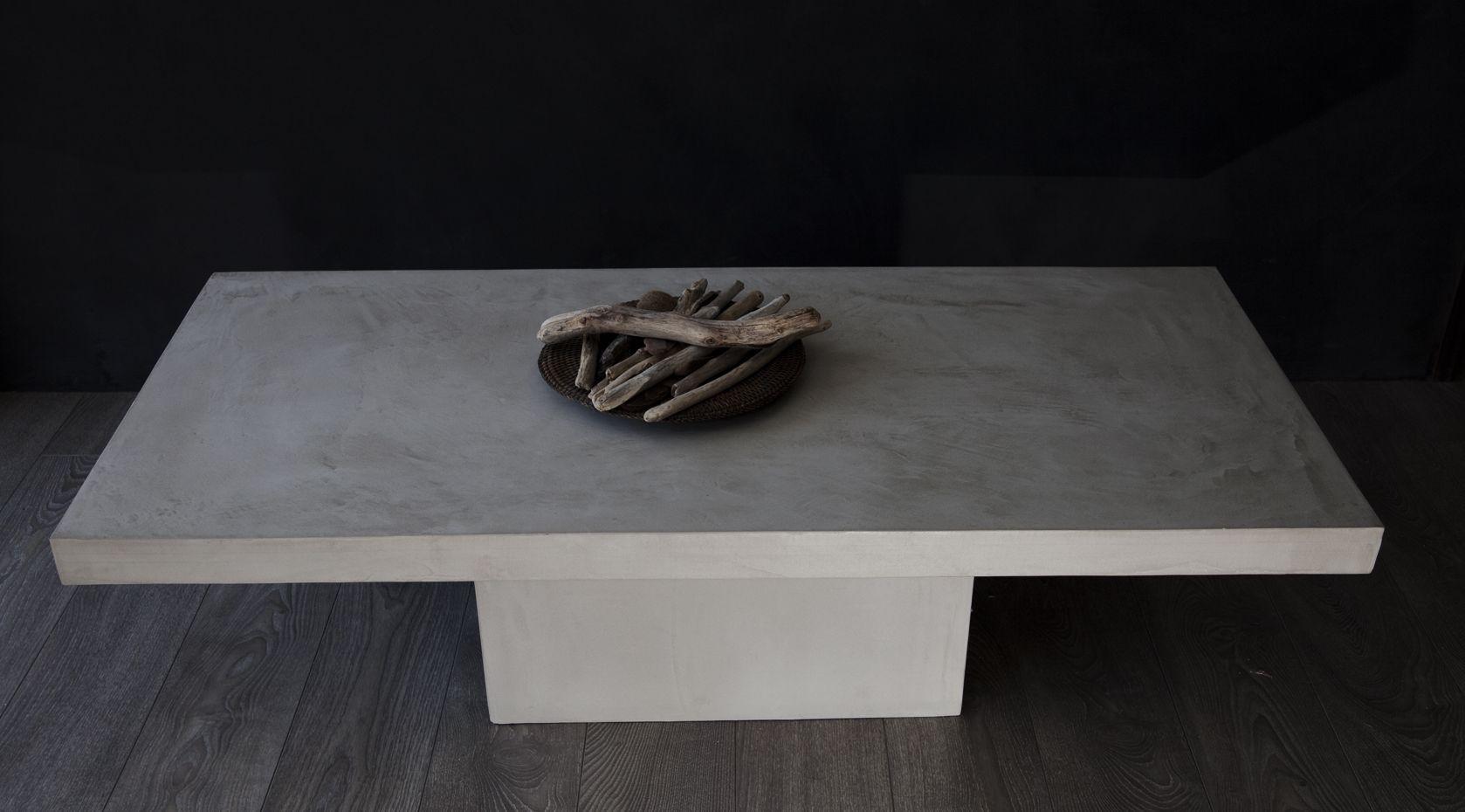 acier beton design cr ations de meubles en b ton cir acier et objets de d coration design des. Black Bedroom Furniture Sets. Home Design Ideas