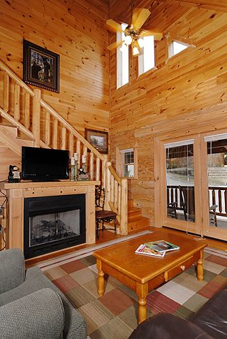 Quiet Serenity Smoky Mountain Ridge Cabin 136 Luxury 1 Bedroom Cabin With Hot Tub And Whirl Pool Log Cabin Rentals Cabin Cabin Rentals