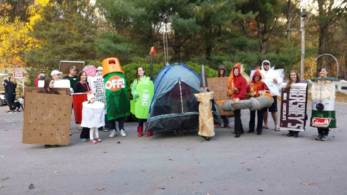 Halloween Camping Images