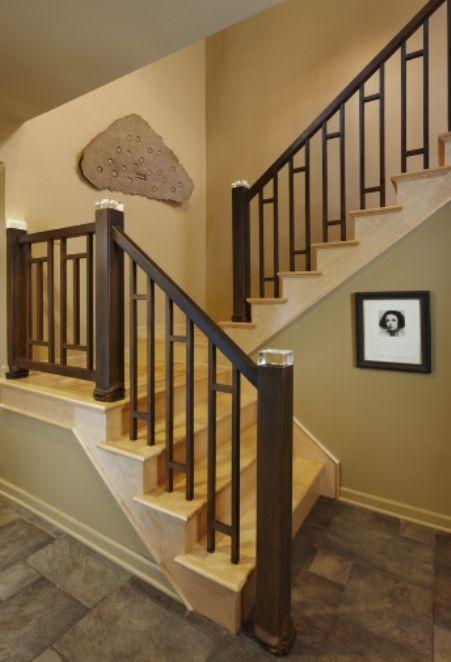 Custom Made Led Stair Rail