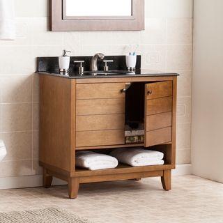 Shop For Harper Blvd Ramon Granite Top Bath Vanity Sinkget Free Entrancing Shop Bathroom Vanities Review