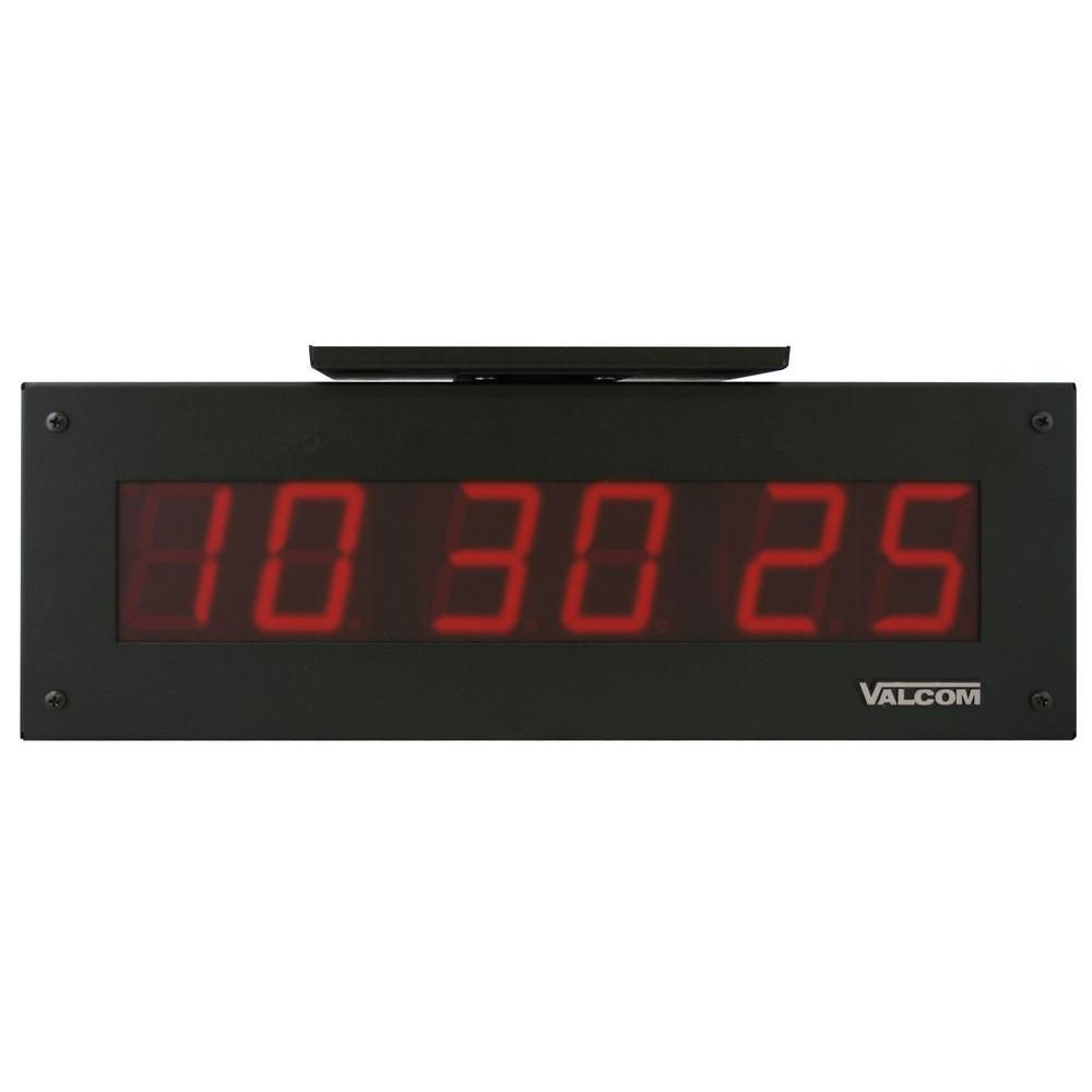 Ip Poe 4 0 In 6 Digit Digital Clocks Double Sided