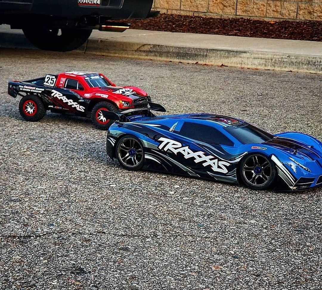 "Traxxas® on Instagram ""Who would win?? 🥊 Traxxas XO1 or"