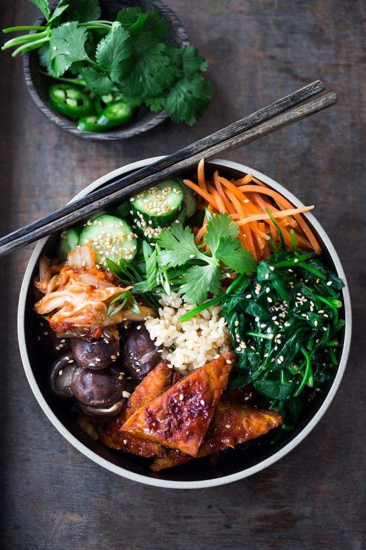 Seoul Bowl Recette Alimentation Vegan Cuisine Vegetarienne