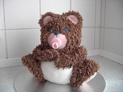 3d Teddy Bear Cake Tin Images Teddy Bear Cakes Bear