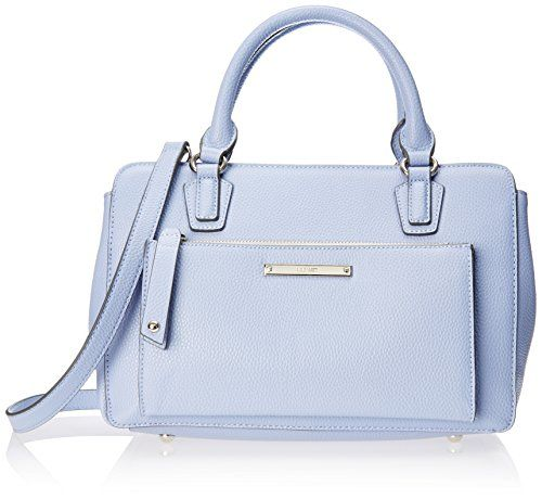 Nine West Zip N Go Satchel, Periwinkle, One Size Nine West