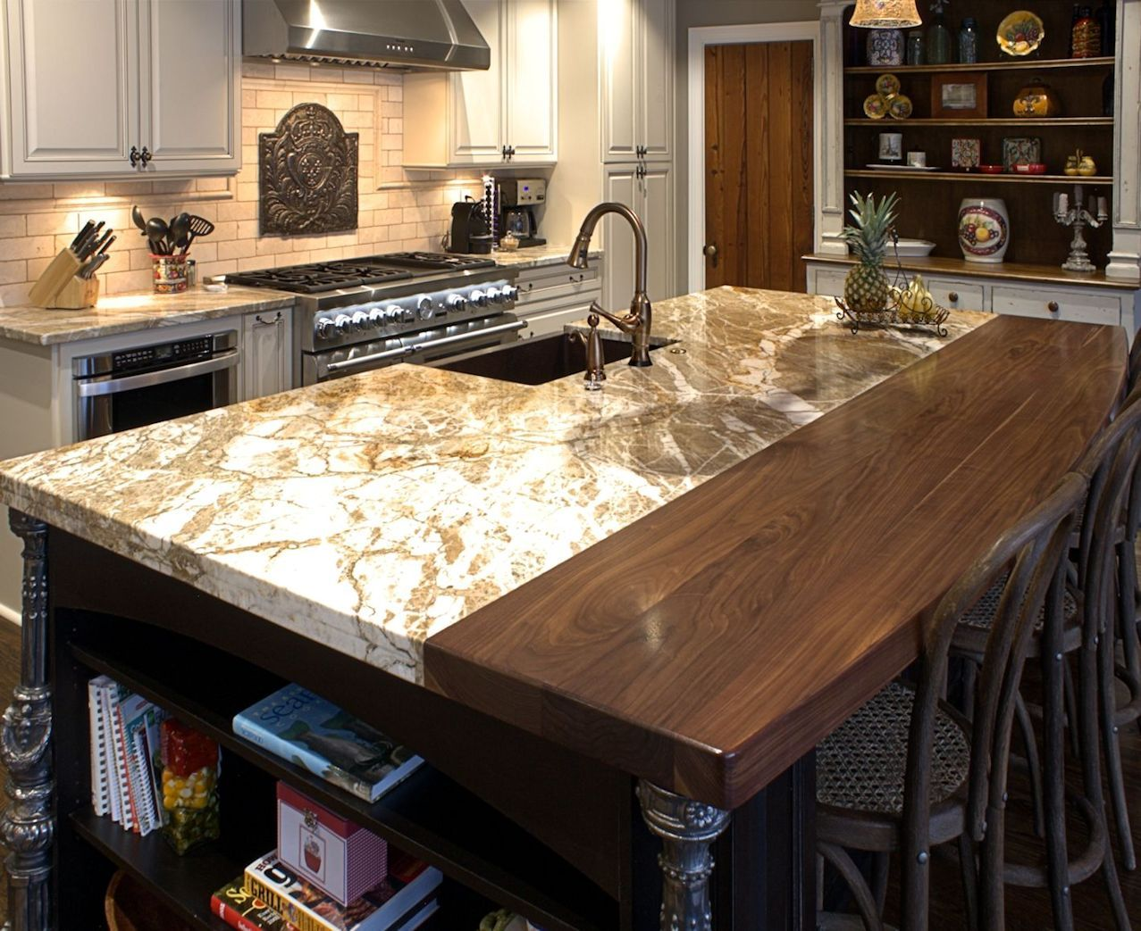 Kitchen Counter Wood Granite Upscale Wood Countertops A Touch Of Warmth Or A Grand Statement Wood Countertops Island Countertops Wood Island Countertop