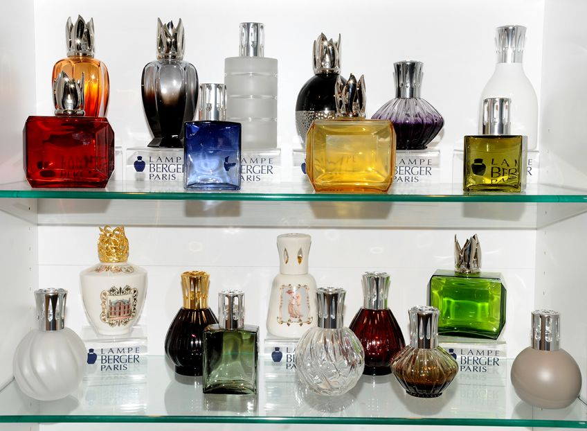 Stunning Lampe Berger fragrance lamps