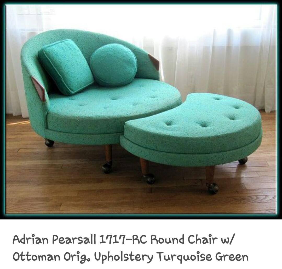Cute, Round Pearsall Chair!