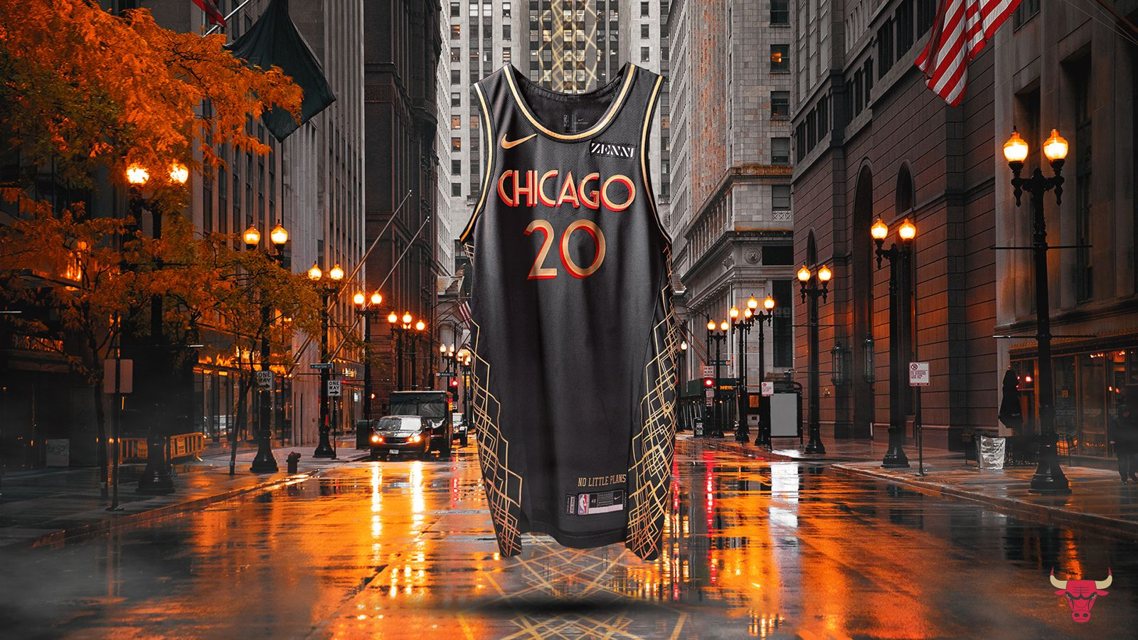 2020 21 City Edition Jersey Chicago Bulls Chicago Chicago Bulls Basketball
