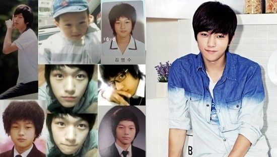 10 Male Idols Who Look The Same Before And After Myungsoo Idol Korean Pop Group