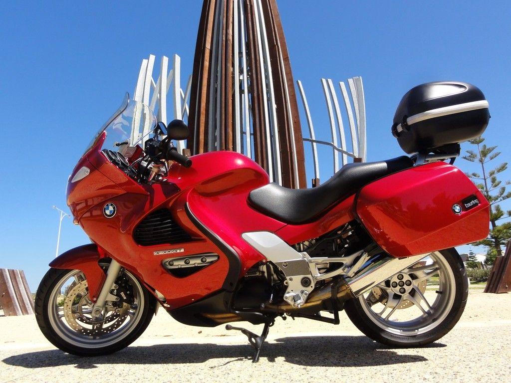 BMW K1200GT 2004 Piedmont Red Bmw motorcycles, Bmw