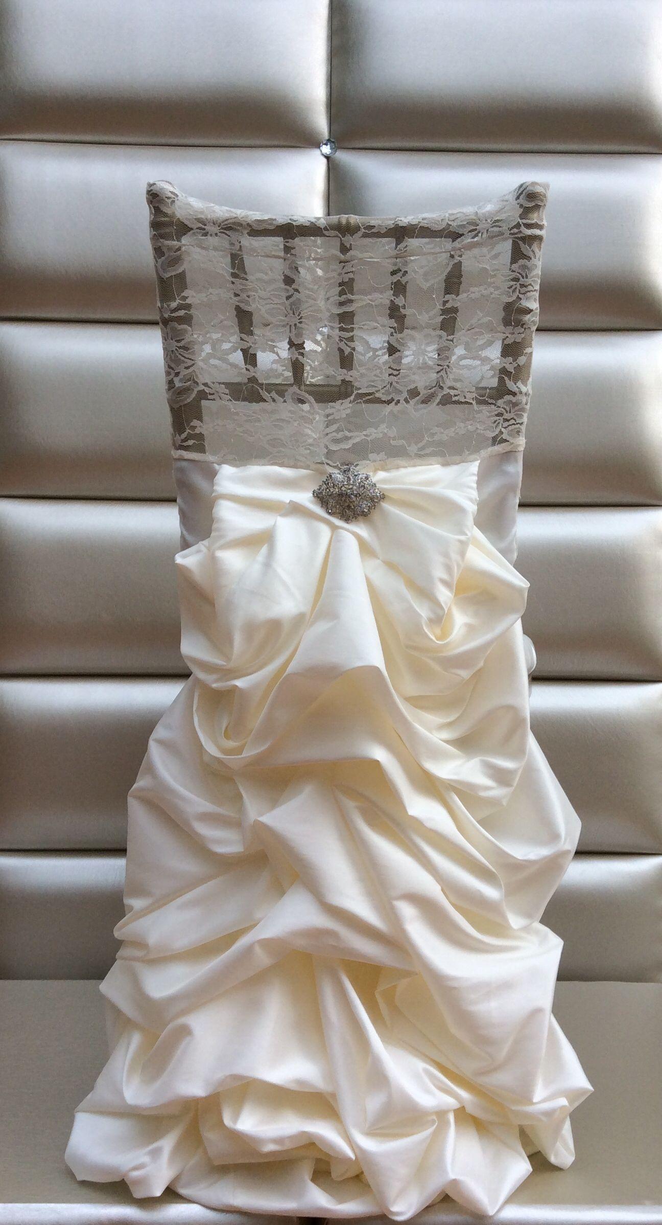 Chiavari chair cover wedding dress chair cover wedding