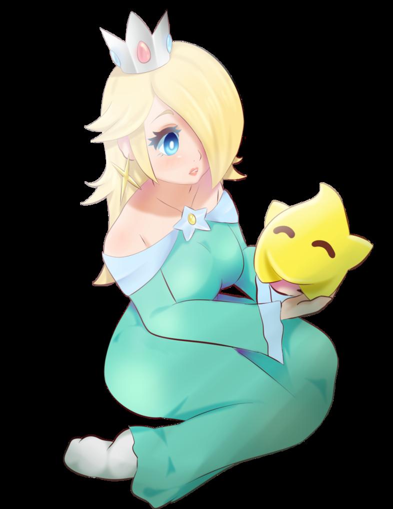 Rosalina and Luma by Personnages de jeu vidéo