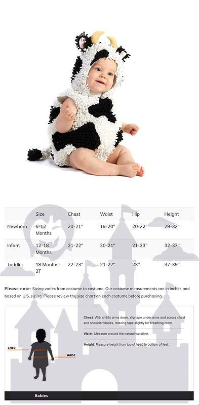 Kids Costumes Baby Cow Infant Toddler Halloween Costume -u003e BUY IT NOW ONLY  sc 1 st  Pinterest & Kids Costumes: Baby Cow Infant Toddler Halloween Costume -u003e BUY IT ...