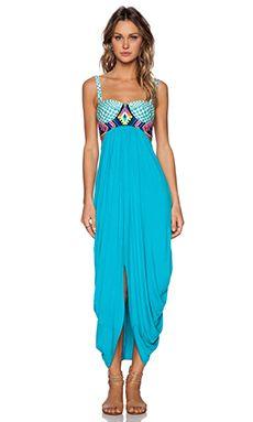 1e213a2e66 MARA HOFFMAN-EMBROIDERED MAXI DRESS | Maxi Dresses | Dresses, Mara ...