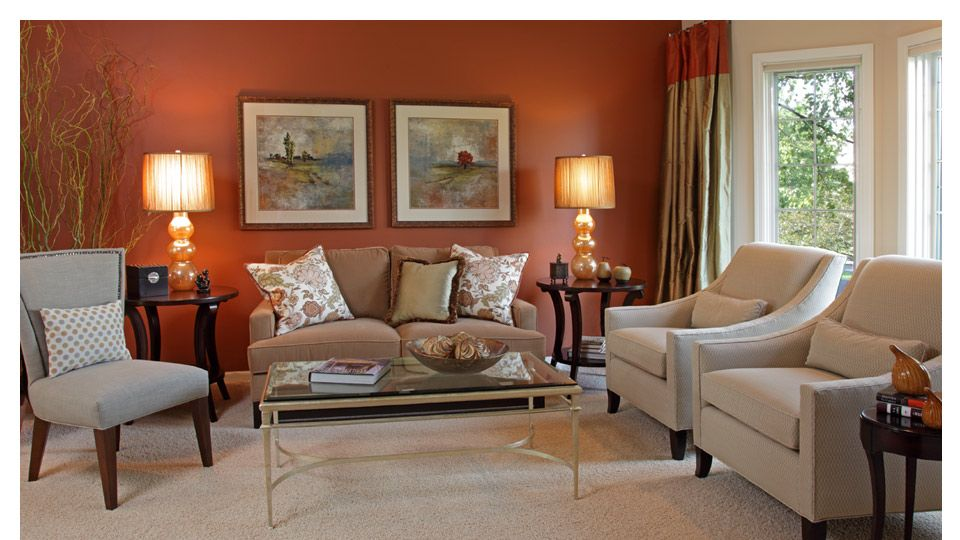 Best Love This Room Especially The Copper Wall And The Curtains With Images Living Room Wall 400 x 300