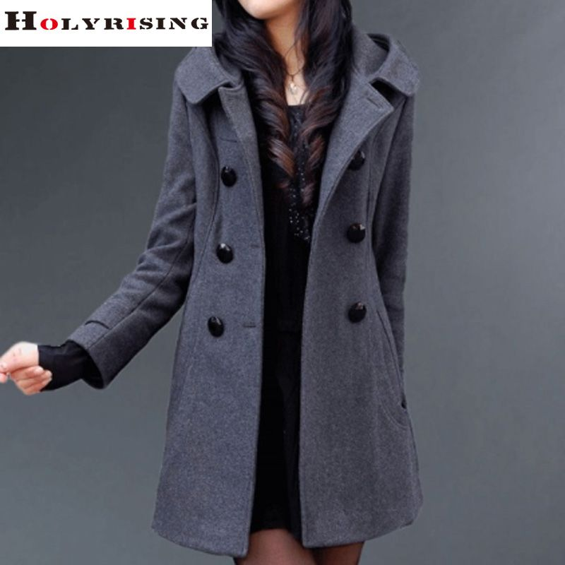 44dcba6a1544 Barato Mulheres jaqueta de inverno casaco feminino double breasted com  capuz casaco fino mulheres jaqueta casaco