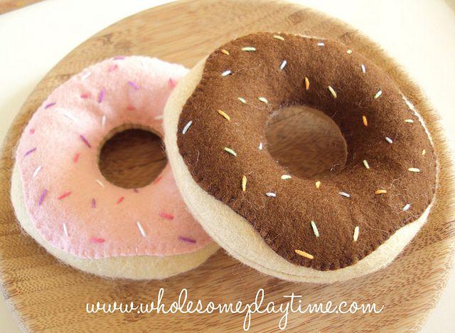 Felt donuts. | Flickr - Photo Sharing!