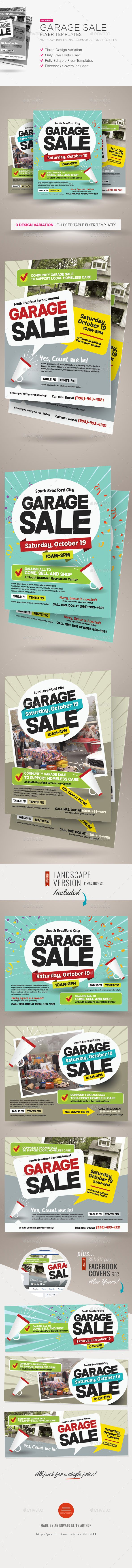 neighborhood flyer template
