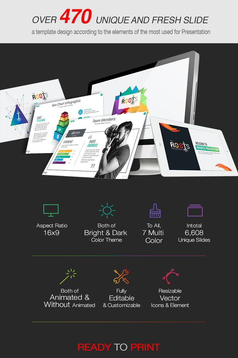 2019 Roots Business Powerpoint Template 80517 Keynote