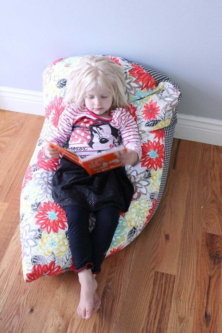 pouf enfant fabriquer un pouf poire pour la chambre enfant d coration chambre bebe. Black Bedroom Furniture Sets. Home Design Ideas