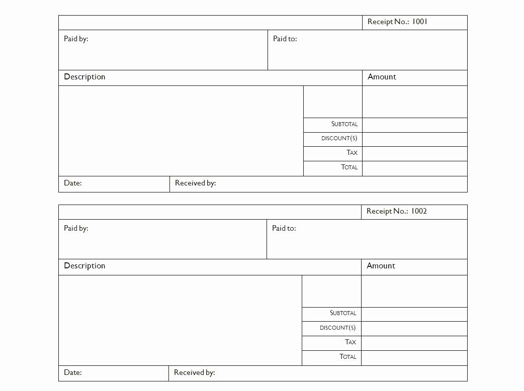 Luxury Blank Receipt Form Example Mughals Receipt Template Invoice Template Sign In Sheet Template