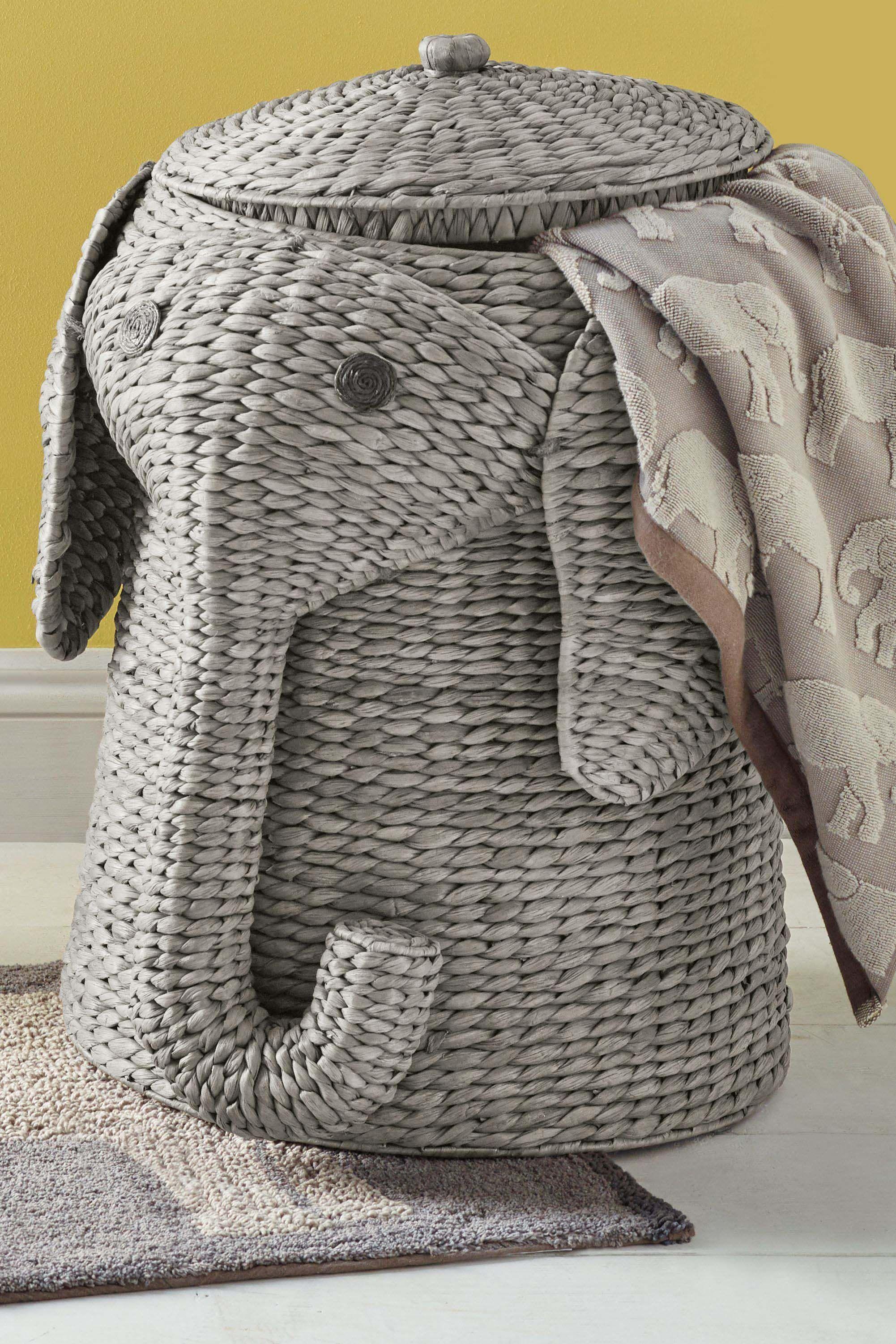 Elephant Laundry Basket in 2020 Laundry basket, Laundry
